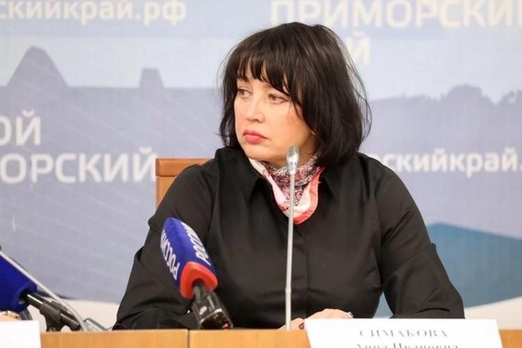 Анна Симакова, главный инфекционист Приморского края.