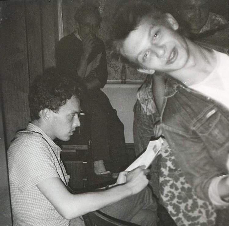 Фото из архива актрисы Инги Ильм