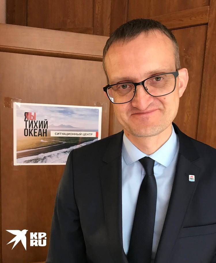 Врио Министра природных ресурсов и экологии Алексей Кумарьков