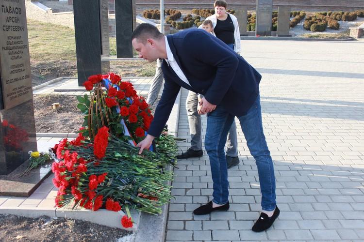 Роман Трошин вспомнил, каким человеком был Арсен Павлов. Фото: НД ДНР