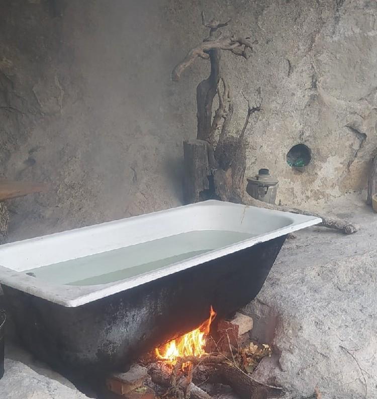 Вот таким образом нагревается вода Фото: Лев Лев