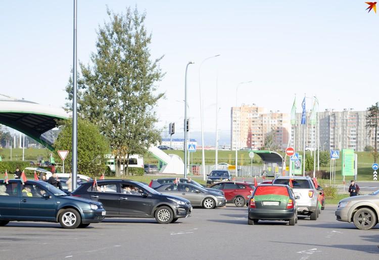 Конечная точка маршрута - Витебск. Фото: Екатерина Толочко