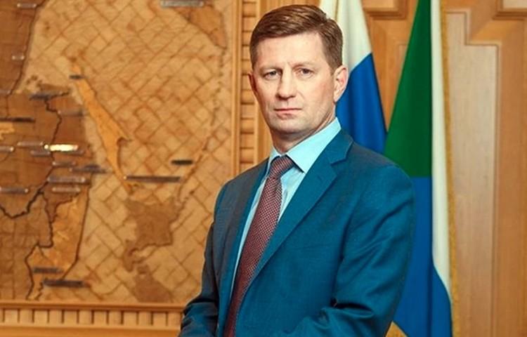 Экс-губернатор Хабаровского края Сергей Фургал. Фото: пресс-служба
