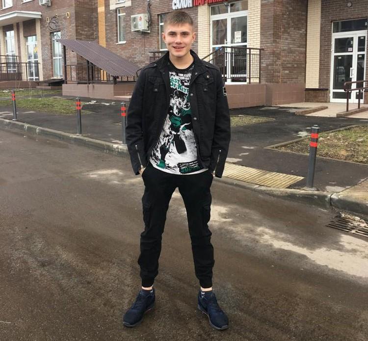 Виктору Захарову было всего 22 года. Фото: Архив семьи