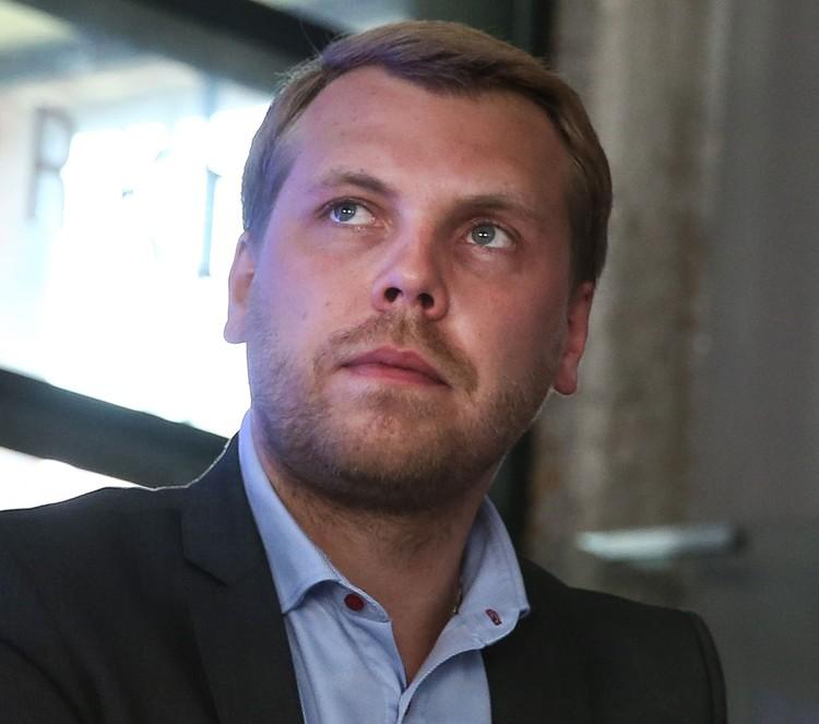 Член генерального совета «Партии Роста» Дмитрий Порочкин. Фото: Станислав Красильников/ТАСС