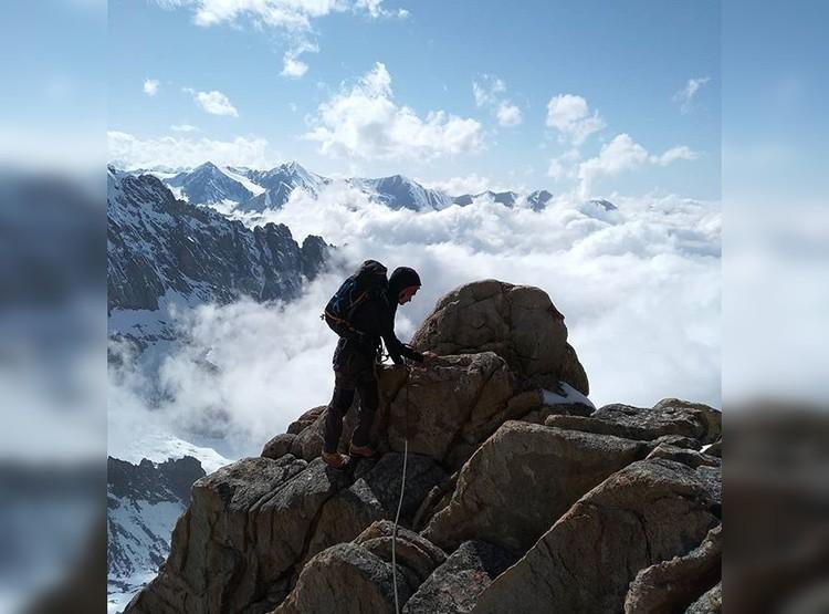 Девушка из Самарской области с детства любила покорять вершины