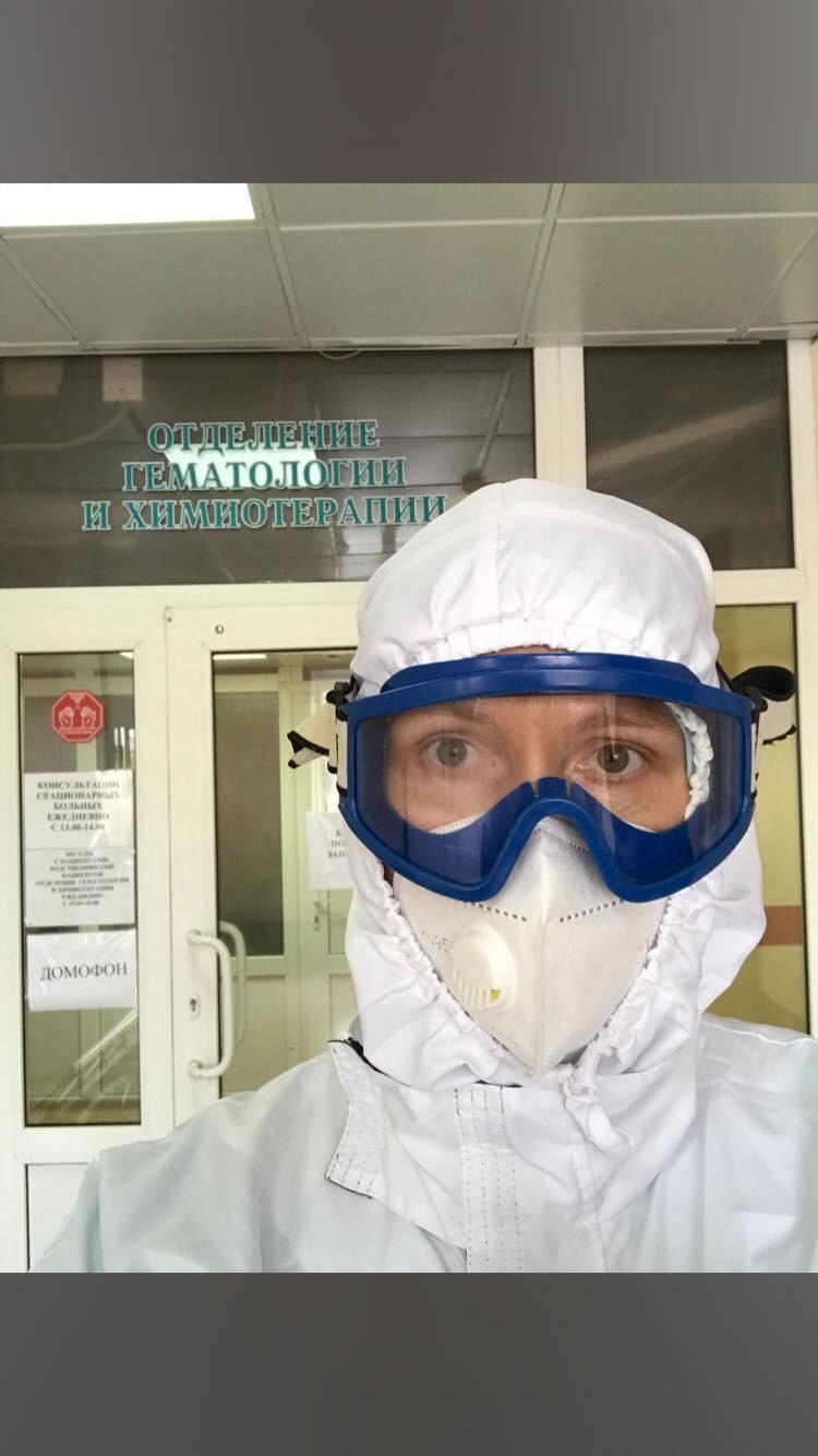Вылечившись от коронавируса, Иван вернулся в госпиталь 0 лечить других
