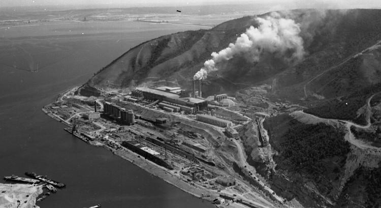 Цементный завод в Яблоневом овраге