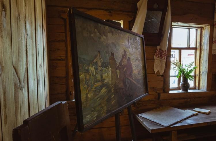 Внутри музея Ильи Репина. Фото: Алексей Авдейчев