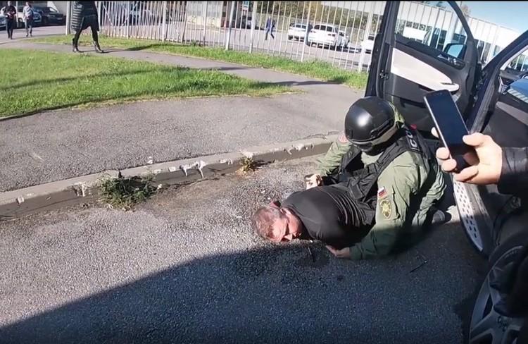 Войтович утверждает, что в его действиях нет преступления Фото: ГУ МВД по СПб и ЛО