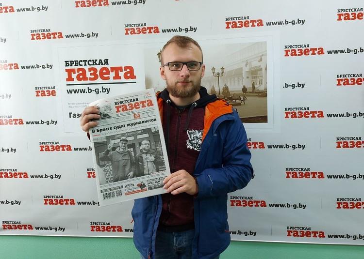 Максим Хлебец и Роман Чмель внештатно сотрудничают с «Брестской газетой». Фото: b-g.by