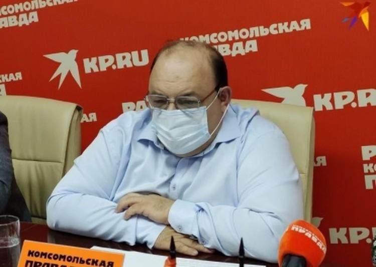 Олег Костин рассказал о главной опасности коронавируса