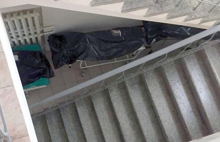 Ростов. Тела умерших попали на видео. Фото: стоп-кадр с видео