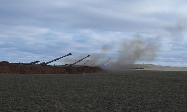 На два дня полигон под Оренбургом превратился в настоящее «поле боя». Фото: предоставлено пресслужбой ЦВО