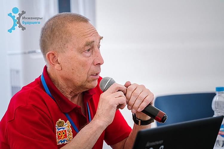 Изобретатель Юрий Чашков. Фото: soyuzmash.ru