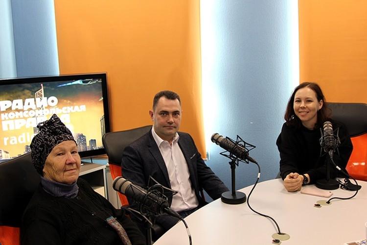 Организаторы и герои проекта побывали в эфире радио «Комсомольская правда».