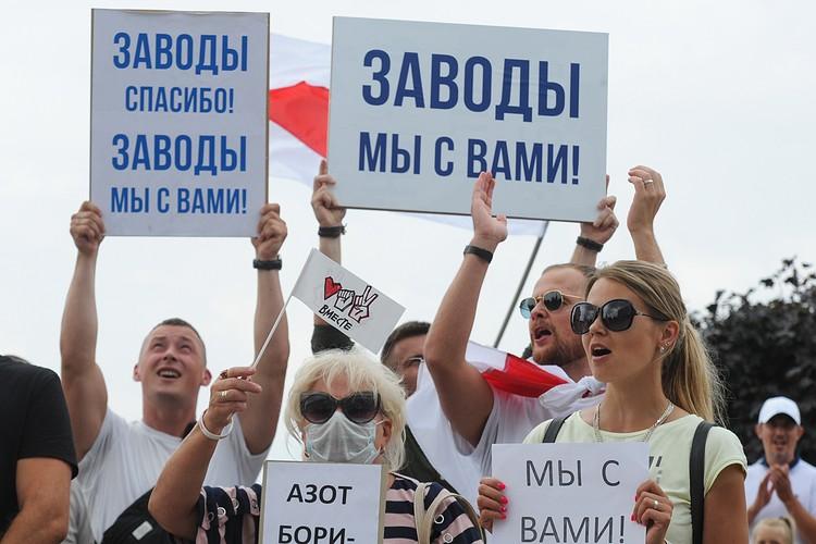 А теперь, похоже, сдулся протест. Настоящих буйных мало. Да и люди устали. Фото: Виктор Драчев/ТАСС