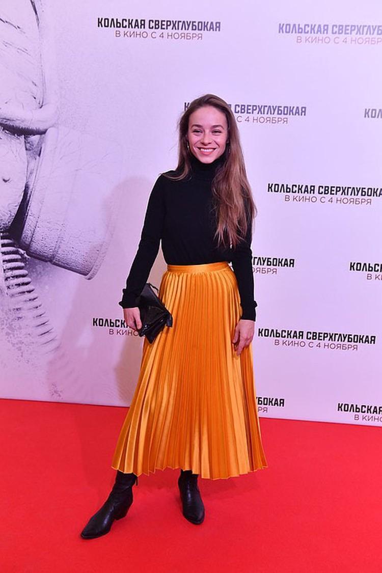Актриса Рина Гришина.