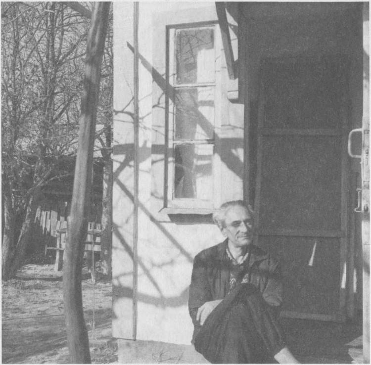 Даниил Андреев в Горячем Ключе. 31 октября 1958-го. Фото: Аллы Андреевой.