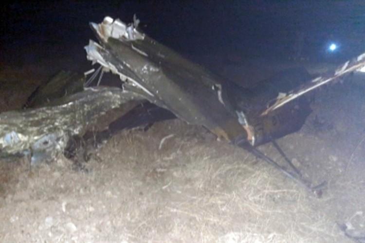 Два члена экипажа погибли, один летчик выжил