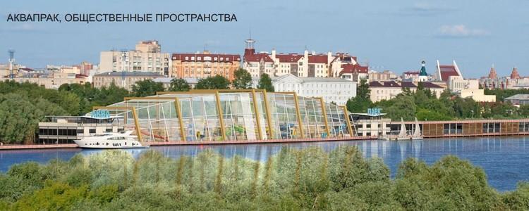 Около исторической части может появиться пешеходный мост и новые развлекательные комплексы. Фото: Омский центр городской среды