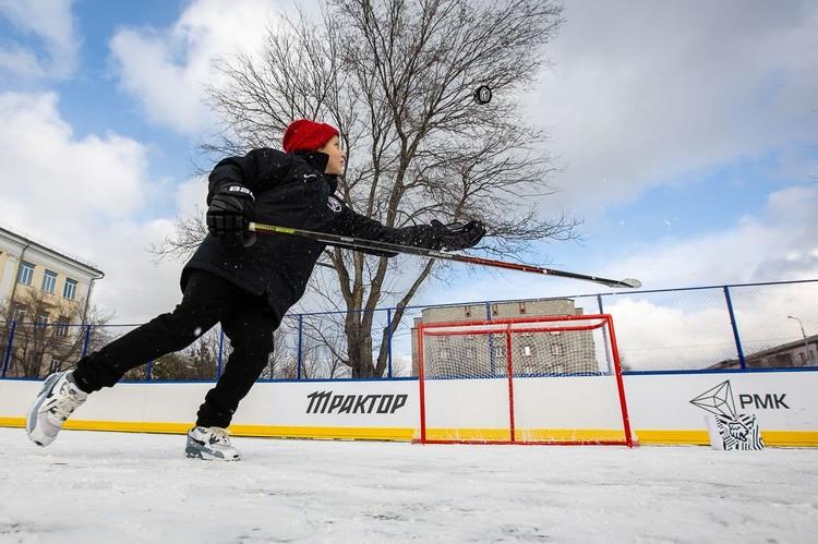 АО «Русская медная компания» в этом году помогла открыть четыре хоккейных коробки в Челябинске и одну в Коркино.