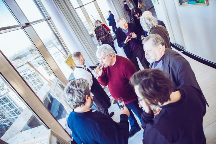 Церемония прошла в штаб-квартире «Созидающего мира» с прекрасным видом на Финский залив. Фото предоставлено фондом «Созидающий мир».