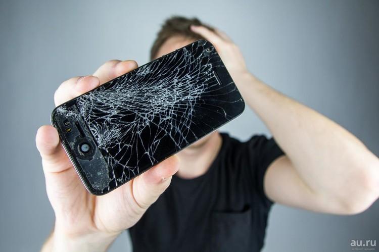 Самое распространенное повреждение – разбитый экран.