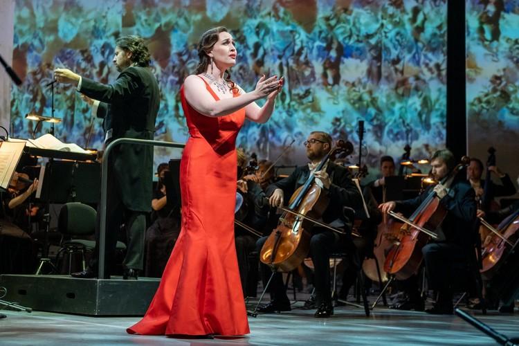 Елена Стихина, почетный гость V Национальной оперной премии Онегин. Фото: предоставлено организаторами/Алексей Смагин.