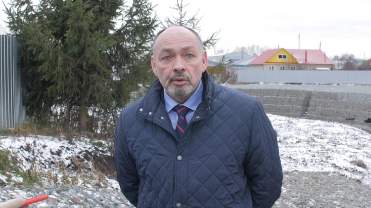 Заместитель руководителя Федерального агентства водных ресурсов Вадим Никаноров.