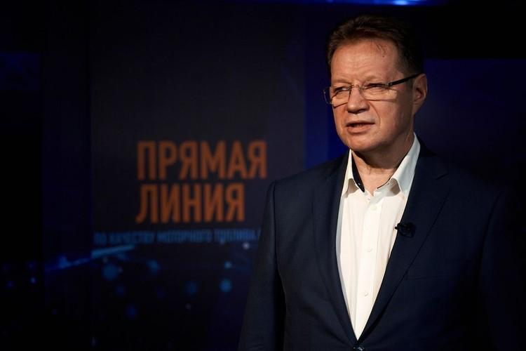 Виктор Чуяков, руководитель программы «Нефтеконтроль» в сегменте сбыта моторных топлив «Газпром нефти»