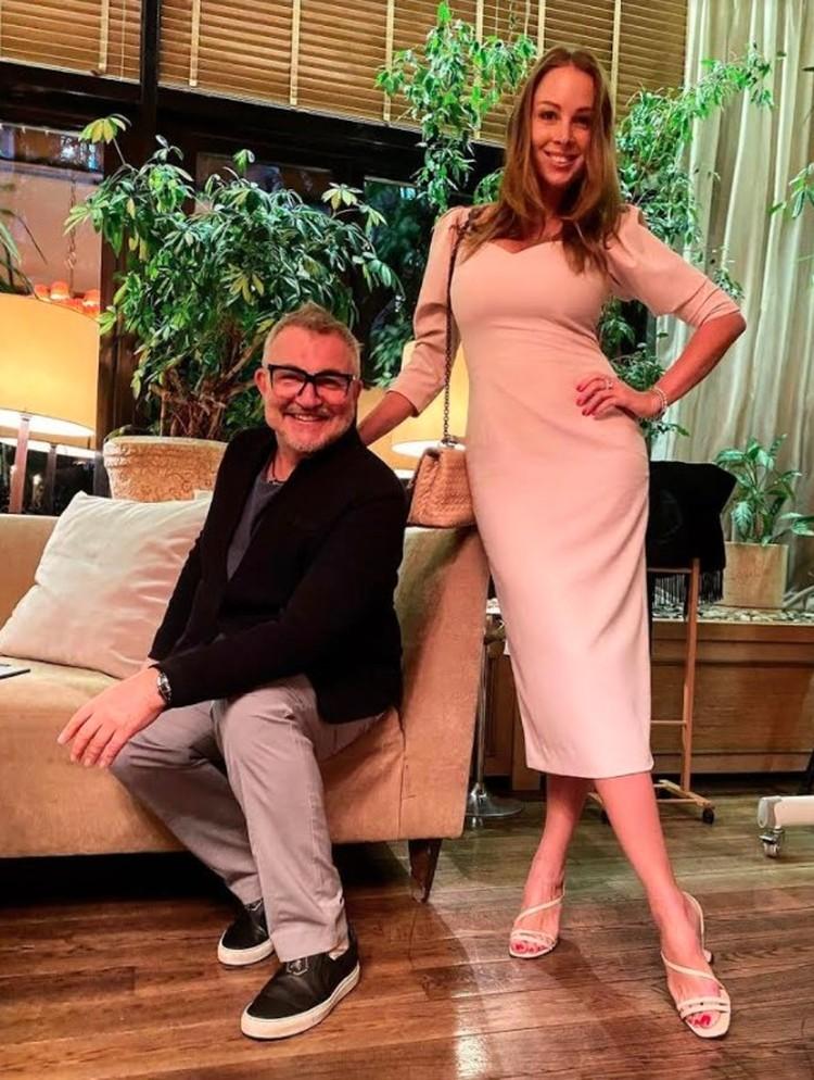 Дмитрий с женой Полиной женаты уже 11 лет.