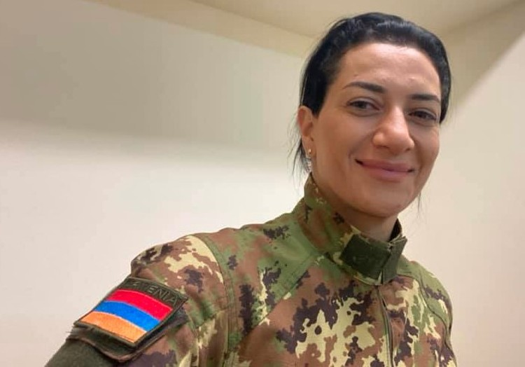 Анна Акопян, супруга премьер-министра Армении Никола Пашиняна.