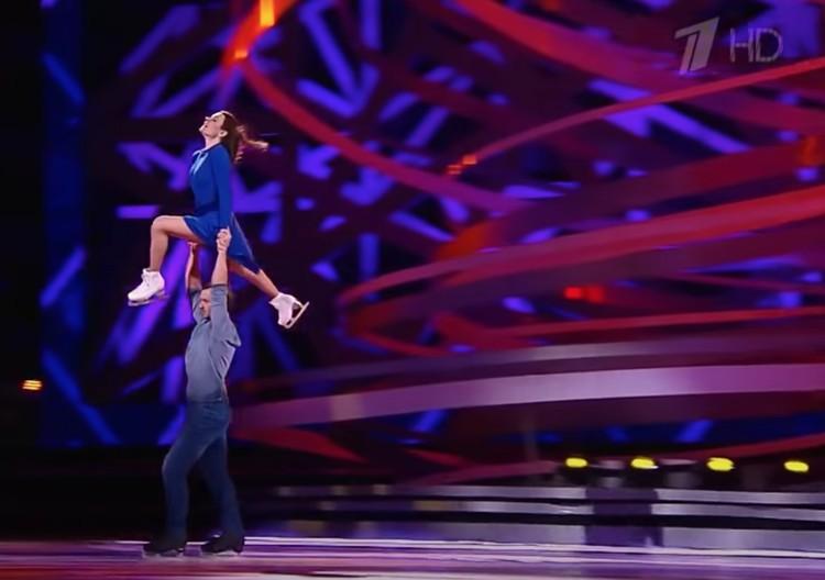 Футболист Дмитрий Сычев и фигуристка Мария Петрова