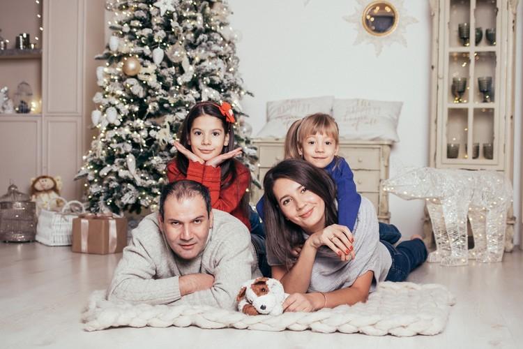 Новый год 2019. Фото: семейный архив семьи Боос