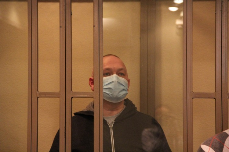 Приговор подсудимый вслушал молча. Фото: Южный окружной военный суд.