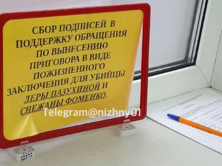 """Такие плакаты появились на Бору. ФОТО: """"Нижний № 1"""""""