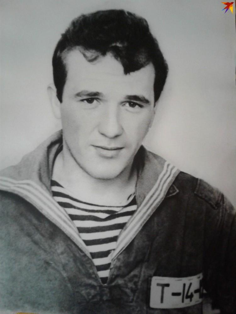 Курсант Александр Лискович погиб на подлодке С-178, которая затонула 21 октября 1981 года. Фото: из личного архива семьи, предоставлено Хидринской школой
