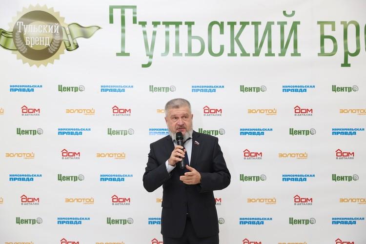заместитель председателя Тульской областной Думы Александр Балберов