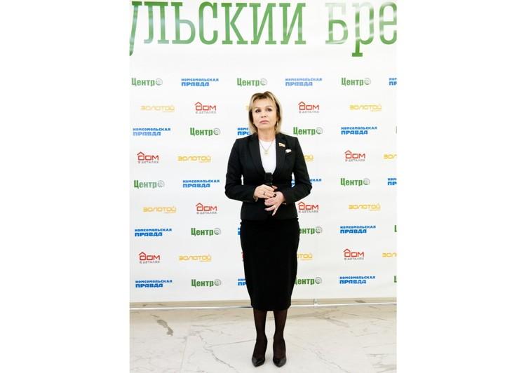 Глава Муниципального образования город Тула Ольга Слюсарева