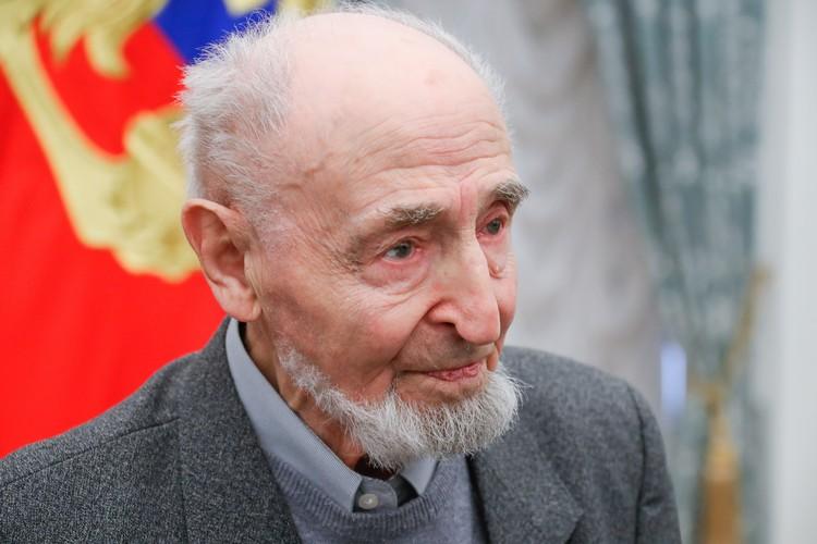 Леонид Шварцман. Фото: Михаил Метцель/ТАСС