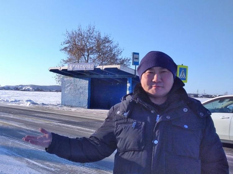Влад Александров взял землю под реализацию проекта по обустройству придорожного сервиса. Фото: предоставлено АРЧК