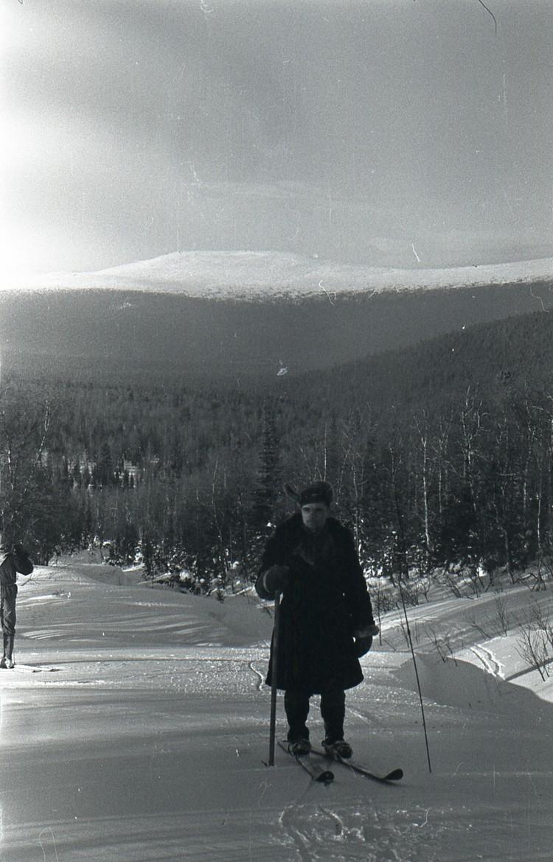 Подполковник Михаил Шестопалов на перевале.