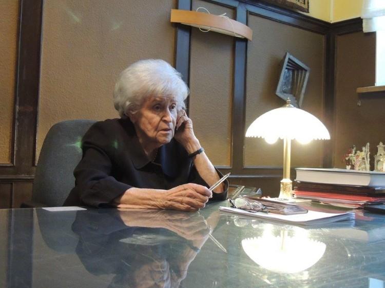 Антонова прожила долгую и насыщенную жизнь длинной почти целый век.