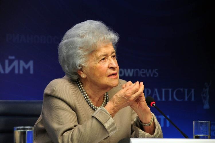 Ей было 98 лет, из которых 75 она проработала в ГМИИ.