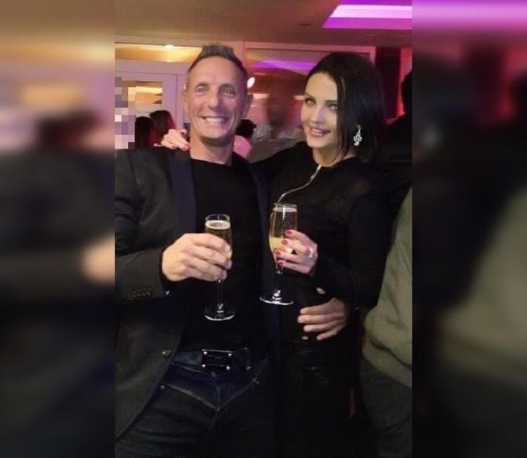 Энди и Мария на вечеринке в Англии. Фото: СОЦСЕТИ