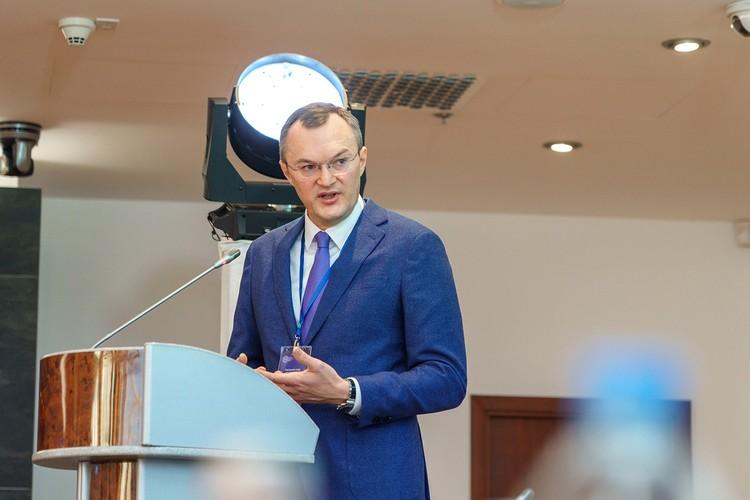 Директор Департамента регионального развития ППК РЭО Анатолий Куценко.