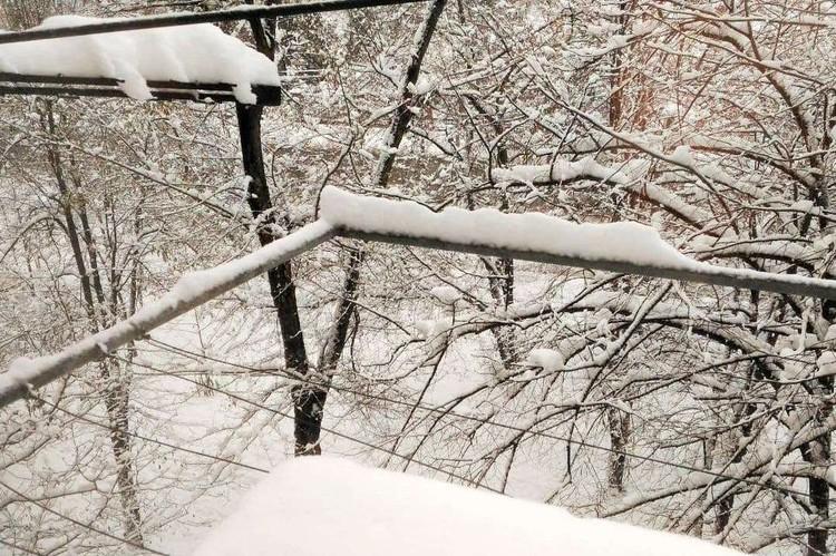 Столько снега краснодарцы не видели давно.
