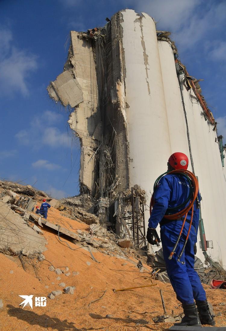 В августе 2020 спасатели МЧС вылетели в Бейрут на ликвидацию последствий взрыва в порту города