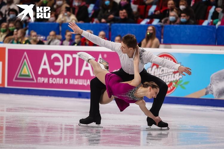 Александра Байкова и Дмитрий Козловский завоевали серебро